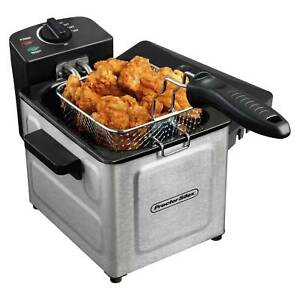 1 Deep Fryer 5 Liter Stainless Electric Steel Professional S