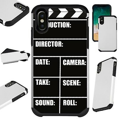 FusionGuard For iPhone 6/7/8 PLUS/X/XR/XS Max Phone Case MOVIE CLIPBOARD](Movie Clipboard)