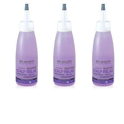 Kopfhaut Pflege (3x Kopfhaut Konzentrat Serum trockene empfindliche Kopfhaut-Pflege Lavendelöl)