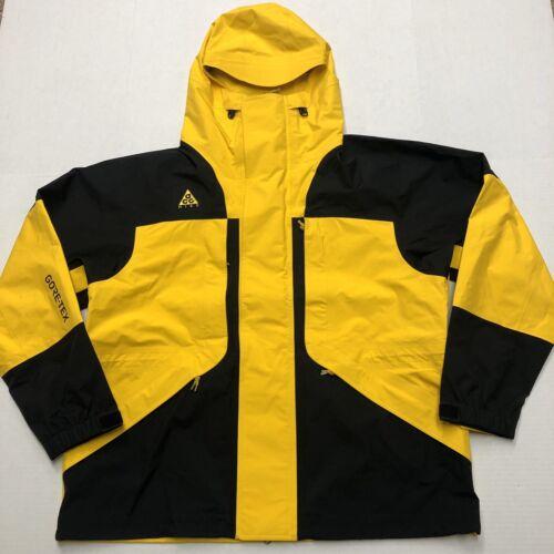 Nike ACG Gore-Tex Jacket Amarillo Yellow Black BQ3445-728 Me