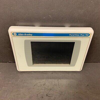 Allen Bradley 2711p-rdt7c K C Panelview Plus 700 Display Module Touch Conformal