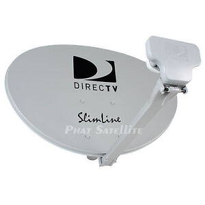 DIRECT TV DIRECTV DTV SLIMLINE kaku SATELLITE DISH Antenna SWM3 SWiM 3 SL3s