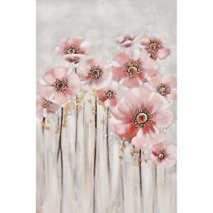 Flower Forest Pink Floral Framed Painting Print Canvas Flower Wall Art Camp Hill Brisbane South East Preview