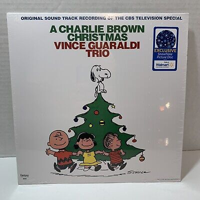 VINCE GUARALDI  TRIO A Charlie Brown Christmas EXCLUSIVE LP  Snowflake Disc ()
