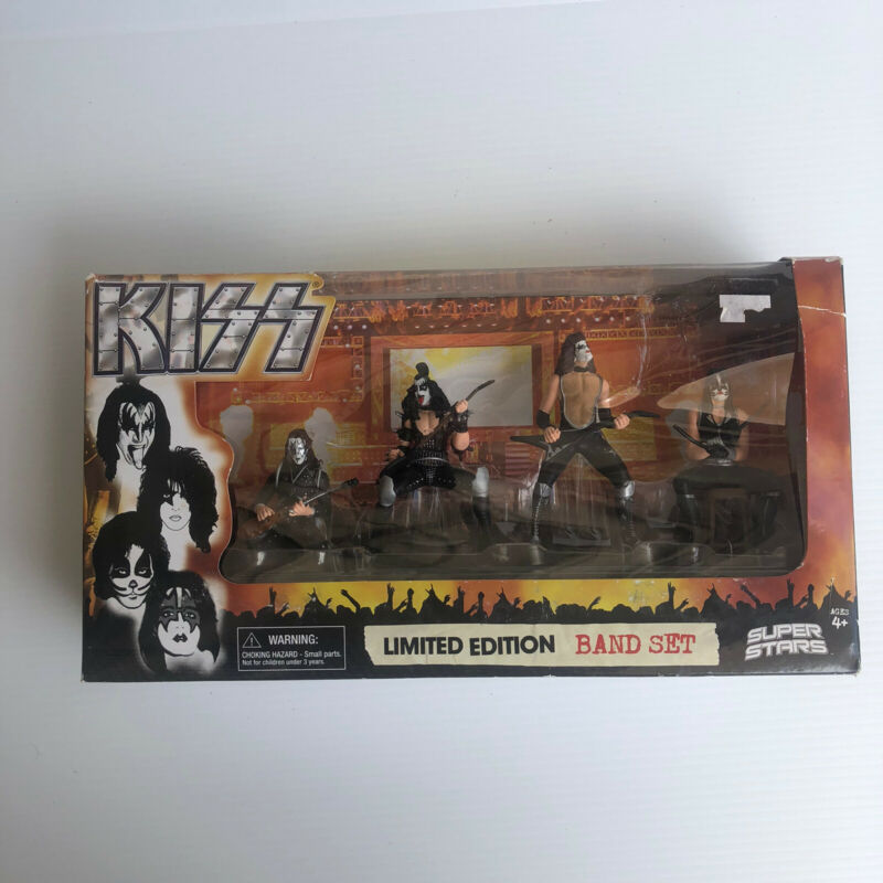 KISS LIMITED EDITION COLLECTIBLE BOX SET SUPER STARS 2009 New Free Shipping!!!