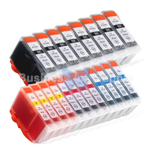 20+pk Pgi-5 Cli-8 Ink Tank For Canon Pixma Mx700 Ip3300 I...