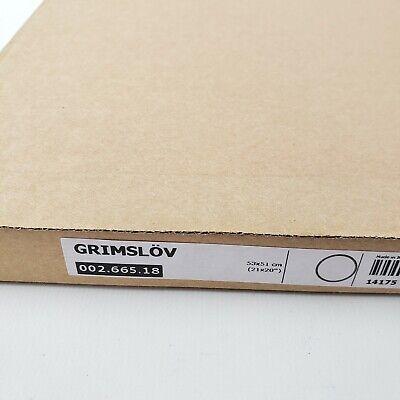"""Ikea Grimslov Off-White Drawer Front 21""""X20"""" Grimslöv 002.665.18"""