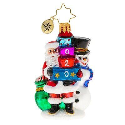 [NEW Christopher Radko 2020 WINTER FRIENDS Christmas Ornament 1020231 Little Gem</Title]