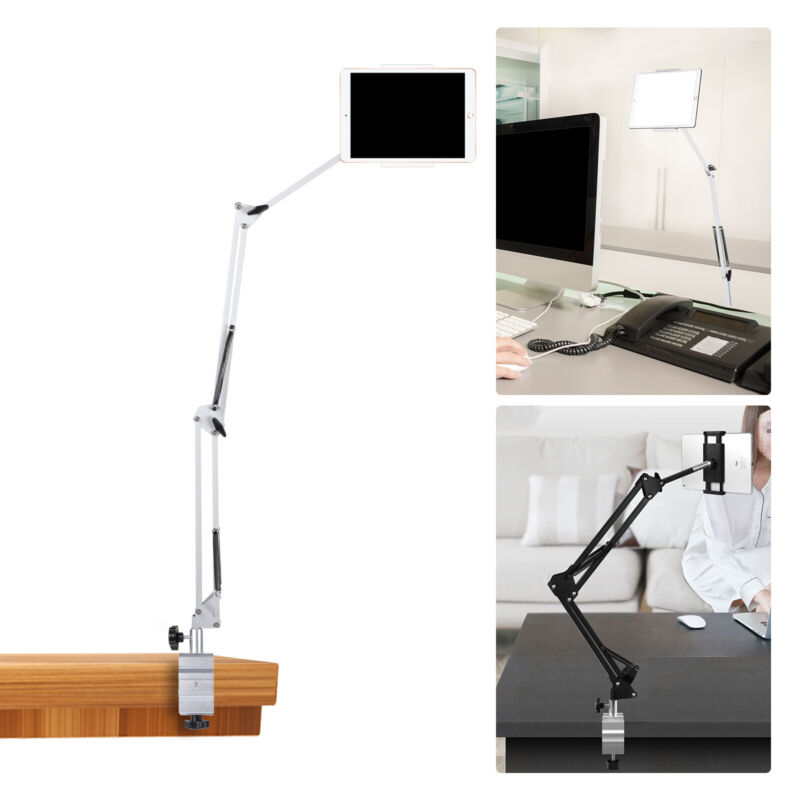Universal Foldable Tablet Phone iPad Stand Flexible Desk Bed Lazy Holder Mount