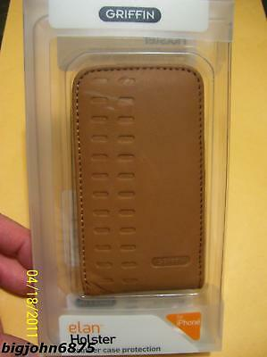 Iphone 3g Holster - Griffin Elan Holster Genuine Leather Case iPhone 4S vs 4 vs 3Gs vs 3G vs 2G