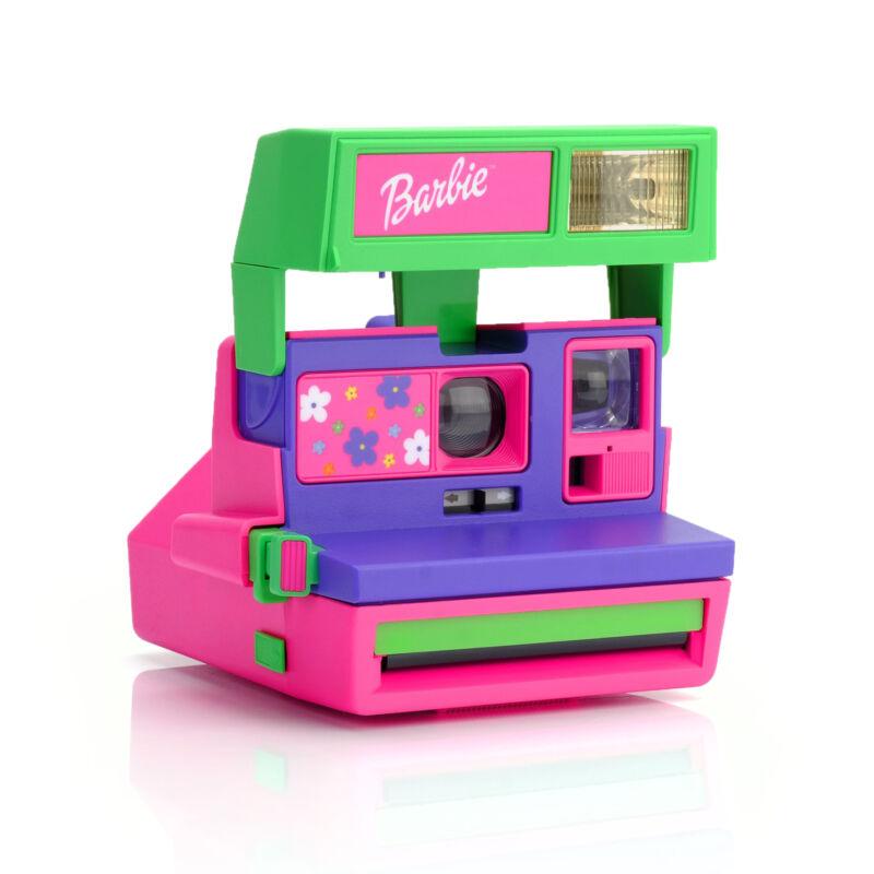 Polaroid 600 Barbie Throwback Instant Camera