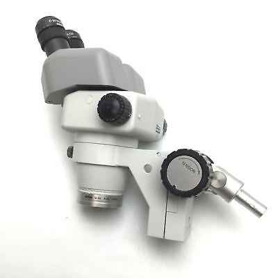 Nikon Smz660 Stereo Microscope With C-w10xa22 Eyepieces Focusing Mount