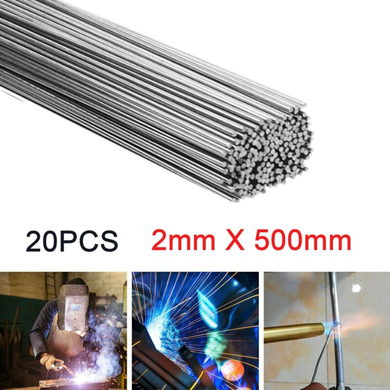 2*500mm Wire Brazing Solution Welding Flux-Cored Rods 20pcs Free shipping