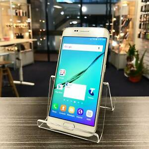 MINT CONDITION SAMSUNG S6 EDGE 32GB WHITE UNLOCKED WARRANTY INVOC Highland Park Gold Coast City Preview