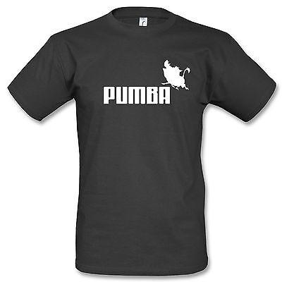 Disney T-shirts (Pumba T-Shirt Fun Kult Timon König der Löwen Cartoon Disney Comic Warzenschwein)