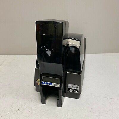 Datacard CP60 Plus Color ID Card Printer Only Tested and Working