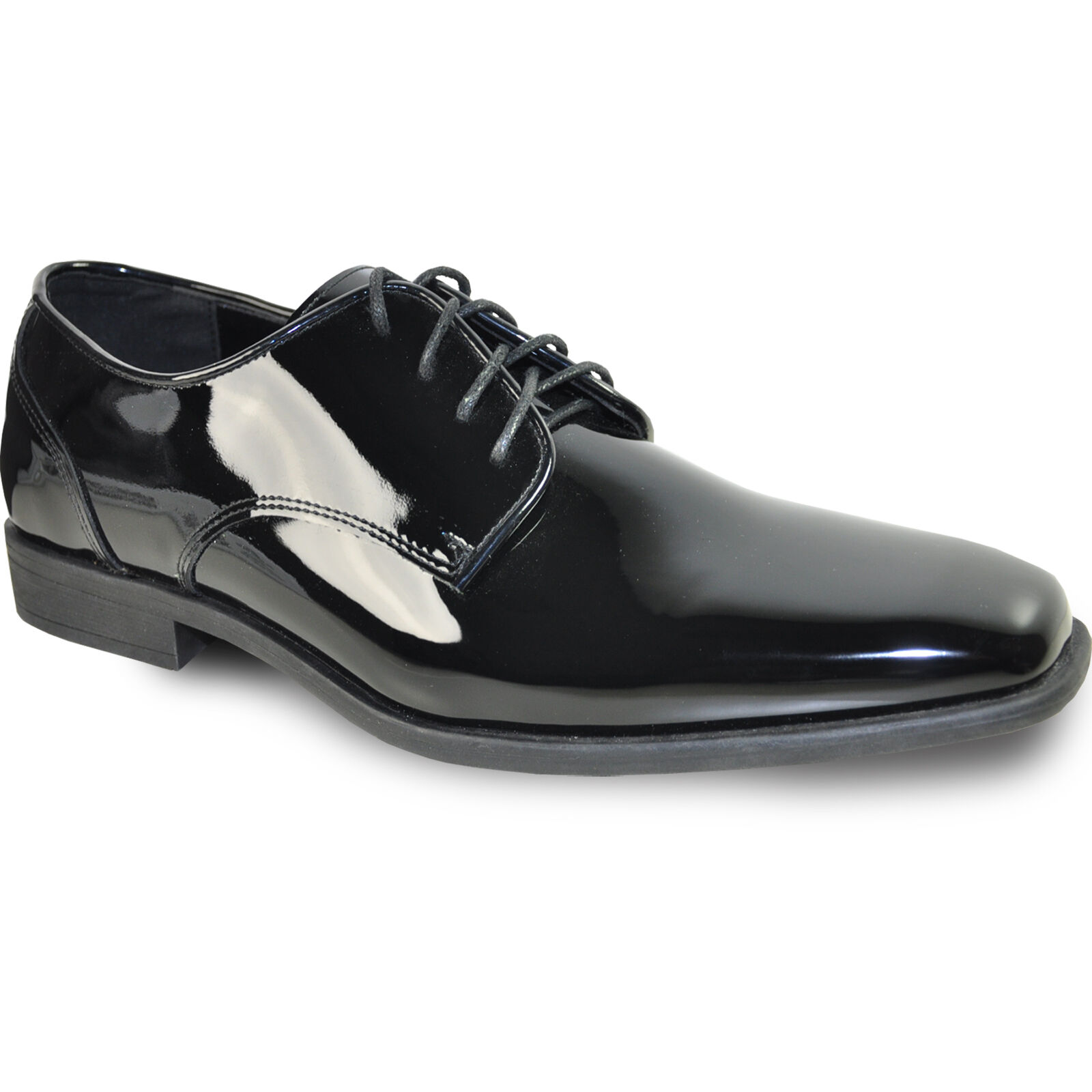 VANGELO New Men Dress Shoes TUX-2 Tuxedo For Formal Wedding Black Size Up to 18