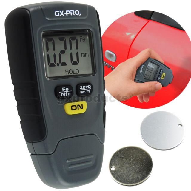 Pocket Size Paint Coating Thickness Meter Gauge Sensor Probe 1.25 mm Non-Metal