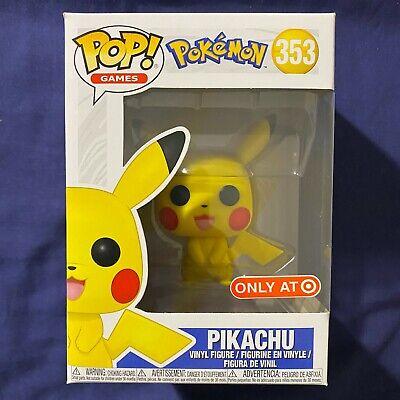 Funko Pop! Games Pokemon Pikachu #353 TARGET Exclusive!