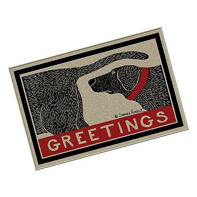 Thasaba Humorous Dog Sniffing Welcome Doormat Offers Unique