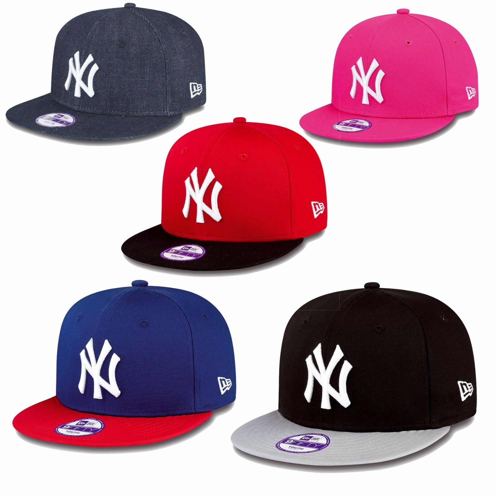 New Era Cappello 59fifty Fitted York Yankees Chicago Bulls Superman Hornets Uvm
