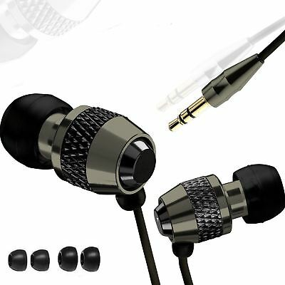 In Ear Headphones Earphones Earbuds Music Sport Gym For Iphone Samsung HTC 3.5mm