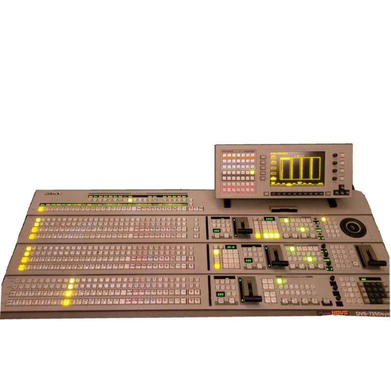 Sony HDVS-7250 Digital Video Switcher System  Mixer- WORKING