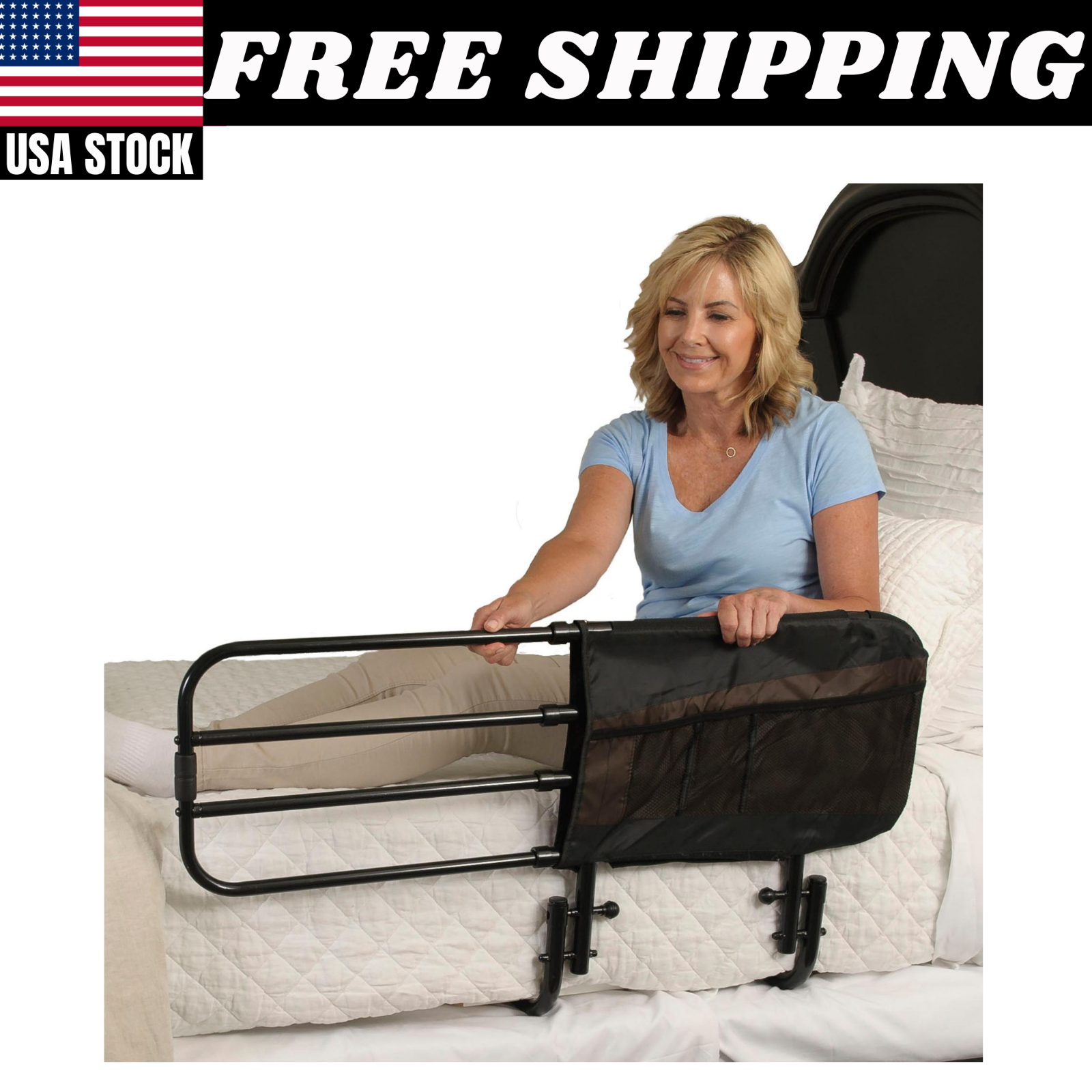 bed rails for seniors elderly adults medical