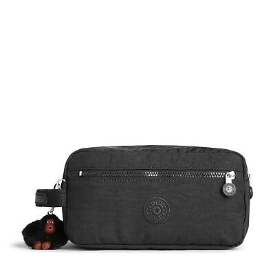 Kipling Toiletry Travel Bag  AGOT in TRUE BLACK