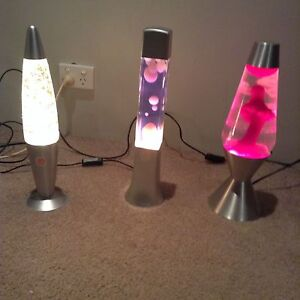 3 lava lamps Beldon Joondalup Area Preview