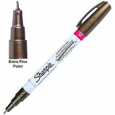 Metallic Gold Sharpie Oil Based Paint Marker 35532, Extra Fine (Gold Sharpie Marker)