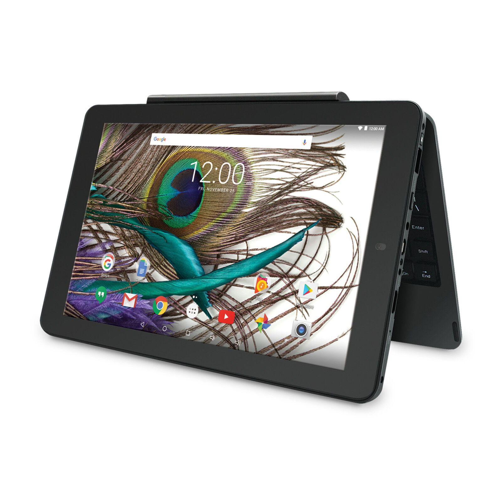 """10"""" Touch Screen Android 2-in-1 Tablet PC e Reader Quad Core"""