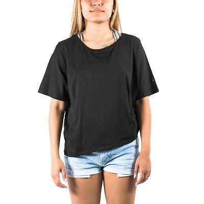 Women's PUMA x HUSSEIN CHALAYAN UM Tee T-Shirt Black size L $55