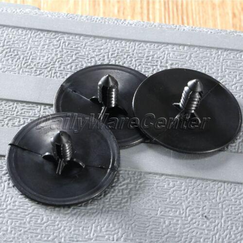 Pcs Push In White Nylon Wiring Harness Strap Retainer Clips Gm Ebay