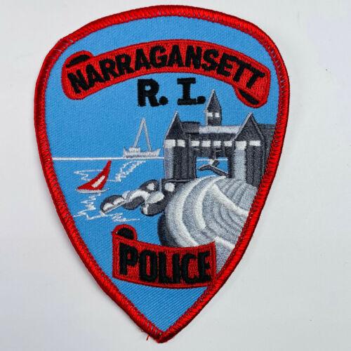 Narragansett Police Rhode Island RI Patch (A3-B)