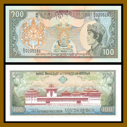 Bhutan 100 Ngultrum, 1994 P-20 Unc