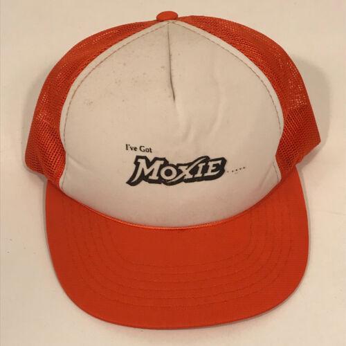 Vintage Moxie Mesh Trucker Cap Hat Snapback - I