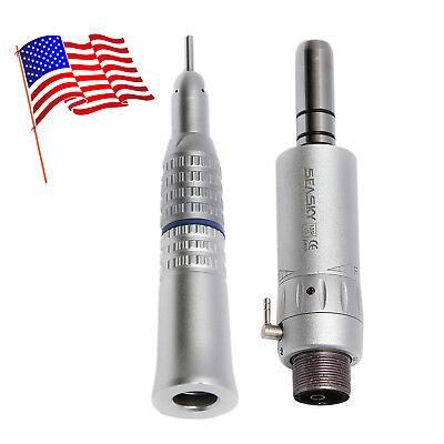 Nsk Style Dental Slow Low Speed Handpiece Straight E-type Air Motor 2hole Rasn