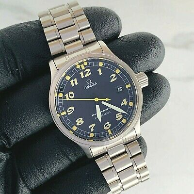 OMEGA DYNAMIC Date Automatic Men's Watch 36mm