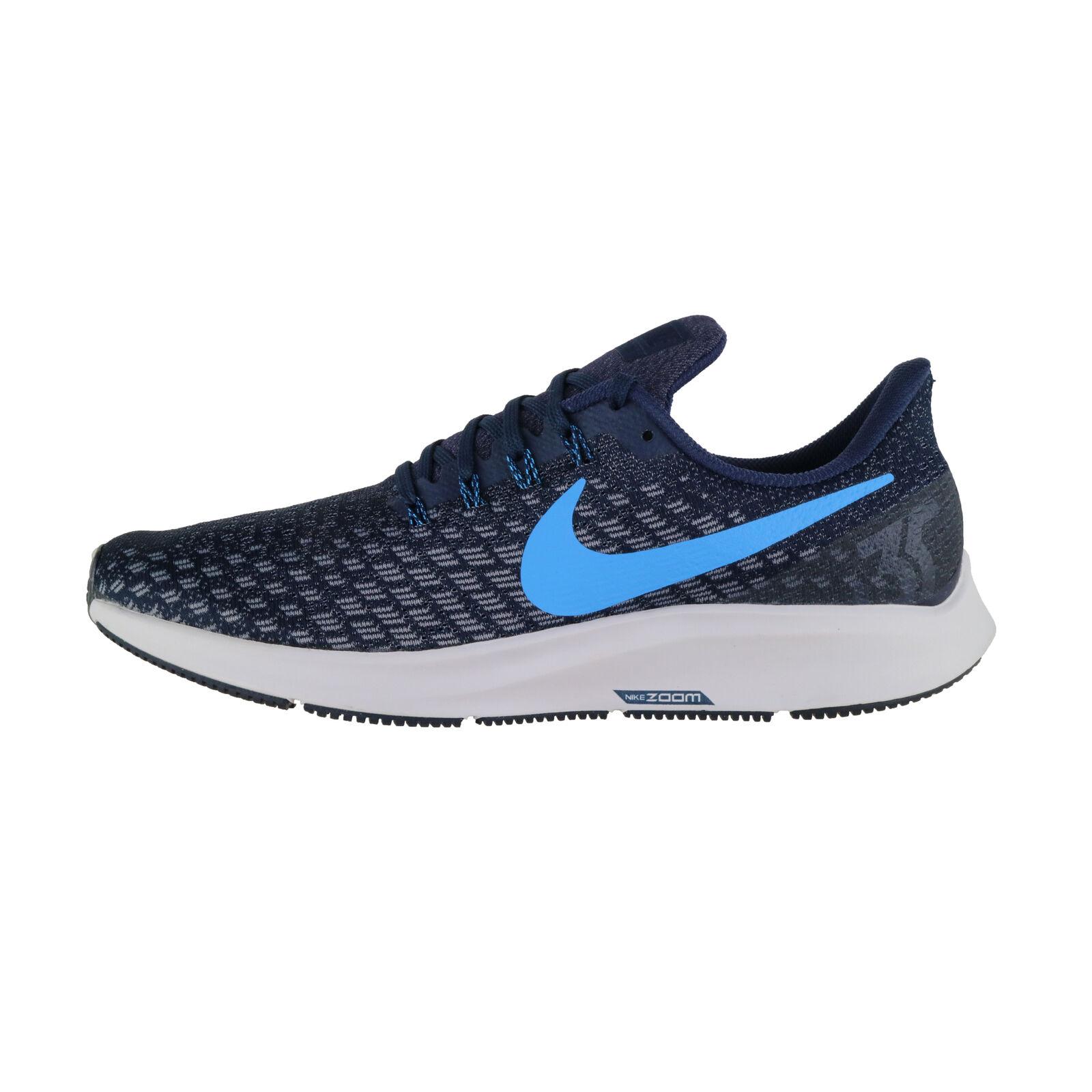 Nike Air Zoom Pegasus 35 Herren Laufschuhe Running Schuhe 942851 401 dunkelblau