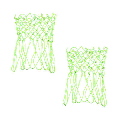 2x Light Up Basketball Net Luminous Thick Hoop Fit for Better Training at
