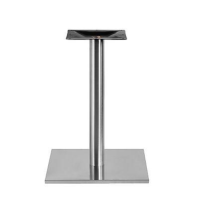 XL Edelstahlt Tischfuß Tischbein Tischfuss Tischgestell Bistrotisch Tischplatte