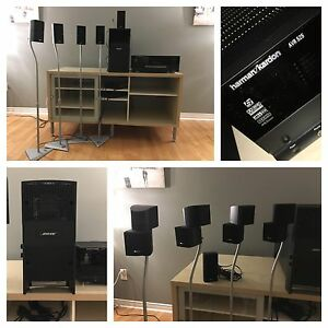 Home theater surround systems - harman/kardon & BOSE