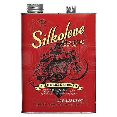 Silkolene Classic Silkolube 20W-50 Mineral engine oil - 4 Litres 4L
