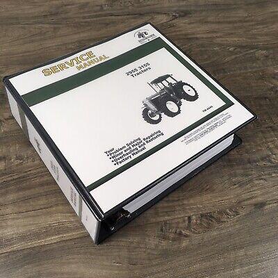 Service Manual For John Deere 2955 3155 Tractors Repair Shop Technical Book