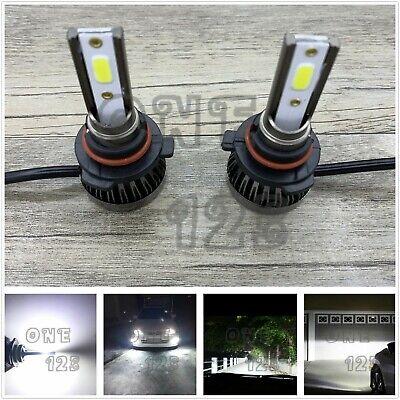 MINI 9005 HB3 CREE LED Headlight High Beam Bulb Kit 6000K WHITE 55W Super Bright
