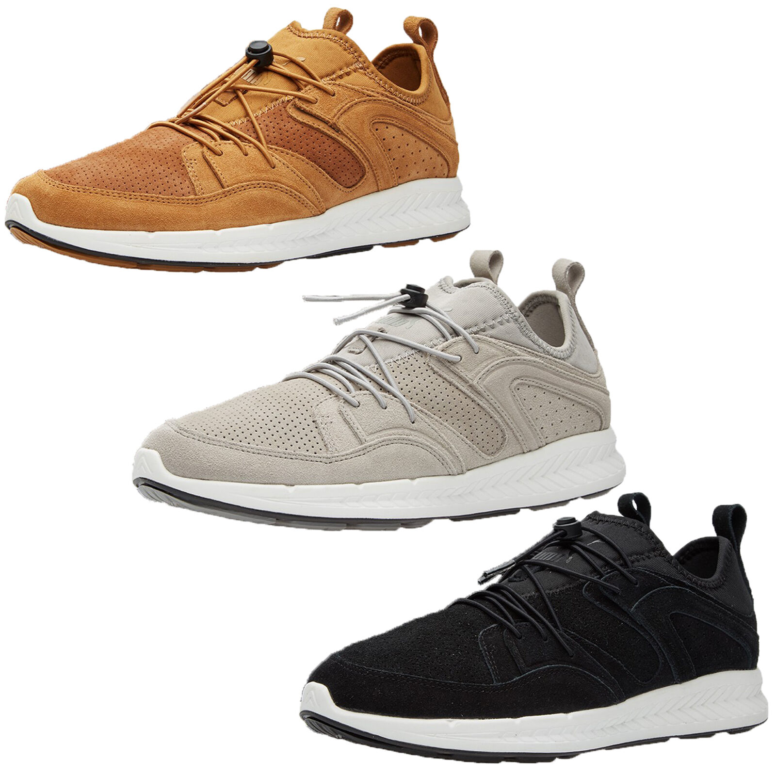 Puma Blaze of Glory Ignite Sneaker Herren Mode Wildleder