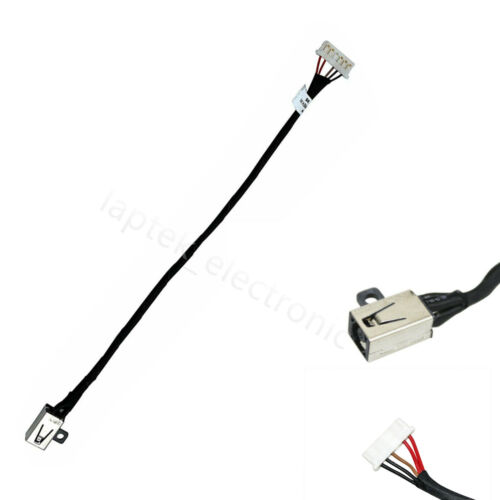 DC Power Jack Cable For Dell Inspiron 15 3551 3552 3558 RYX4J 450.03006.0001 US