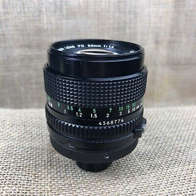 Canon FD 50mm 1:1.4 Industrial Lens Used-Good Condition