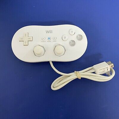 Wii Classic Controller (RVL-005) Nintendo Gamepad, Tested Works - Free Shipping!